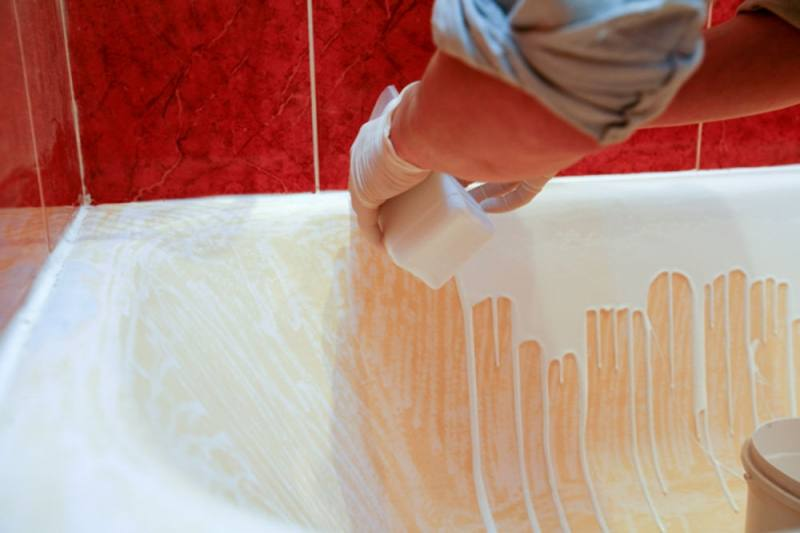 Как восстановить ванну жидким акрилом